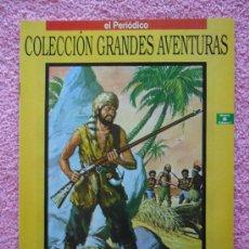 Cómics: GRANDES AVENTURAS 6 1993 EDICIONES B ROBINSON CRUSOE DANIEL DEFOE VOL 1. Lote 46527686