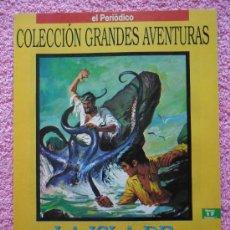 Cómics: LA ISLA DE LA AVENTURA GRANDES AVENTURAS 17 EDICIONES B 1993 ROBERT LOUIS STEVENSON VOL 1. Lote 46528015