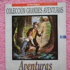 Cómics: GRANDES AVENTURAS 8 1993 EDICIONES B AVENTURAS DE HUCK FINN KARL MAY VOL 2. Lote 46530060