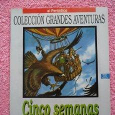 Cómics: GRANDES AVENTURAS 11 1993 EDICIONES B CINCO SEMANAS EN GLOBO JULIO VERNE VOL 2. Lote 46530111