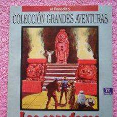 Cómics: LOS CAZADORES DE CABELLERAS GRANDES AVENTURAS 11 1993 EDICIONES B THOMAS MAYNE REÍD VOL 3. Lote 46531101