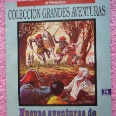 Cómics: NUEVAS AVENTURAS DE ROBÍNSON CRUSOE GRANDES AVENTURAS 12 1993 EDICIONES B DANIEL DEFOE VOL 3. Lote 46531140