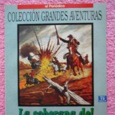 Cómics: LA SOBERANA DEL CAMPO DE ORO GRANDES AVENTURAS 13 1993 EDICIONES B EMILIO SALGARI VOL 3. Lote 46531158