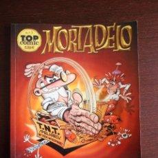 Cómics: TOP COMIC Nº 3 - MORTADELO (SILENCIO SE RUEDA / EL RACISTA Y MUCHAS MÁS COSAS) - EDICIONES B. Lote 46542091