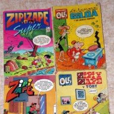 Cómics: ZIPI ZAPE X 3 LOTE HERMANAS GILDA. Lote 46608631