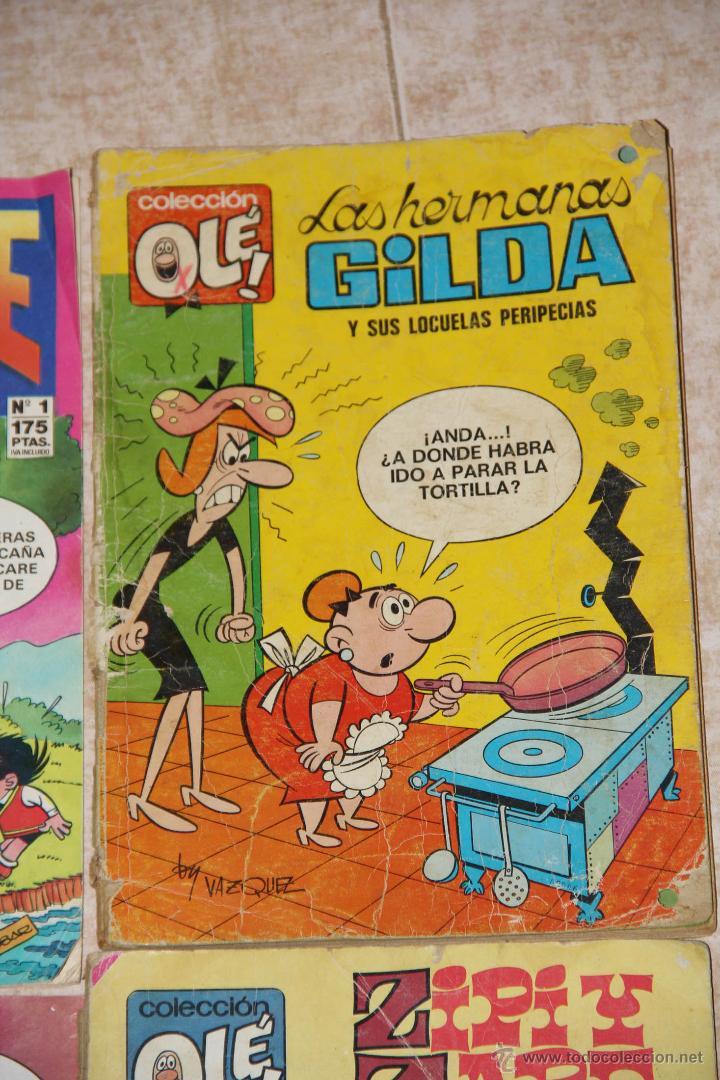 Cómics: ZIPI ZAPE X 3 LOTE HERMANAS GILDA - Foto 4 - 46608631