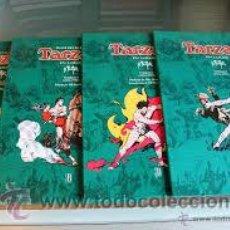 Cómics: TARZAN EN COLOR DE HAROLD FOSTER COMPLETA EDICION GIGANTE DE LUJO 4 TOMOS DE 1931 A 1935 EDICIONES B. Lote 46953654