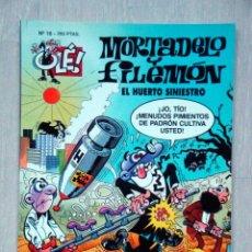Cómics: MORTADELO Y FILEMÓN. EL HUERTO SINIESTRO, DE FRANCISCO IBÁÑEZ. OLÉ! Nº 16. Lote 46989952