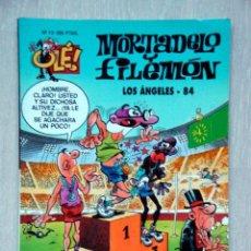 Cómics: MORTADELO Y FILEMÓN. LOS ÁNGELES 84, DE FRANCISCO IBÁÑEZ. OLÉ! Nº 13. Lote 46989995