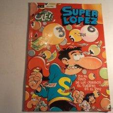 Cómics: SUPER LOPEZ. Nº 12. EDICIONES B. (M-6). Lote 46996888