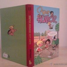 Cómics: SUPER HUMOR ZIPI Y ZAPE 13. EDICIONES B, 1ª EDICIÓN, 2000.. Lote 68978917