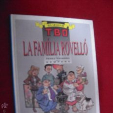 Cómics - LA FAMILIA ROVELLO - ELS ARXIUS DE TBO 3 - NAVARRO & SEMPERE - CARTONE EN CATALAN - 47053645