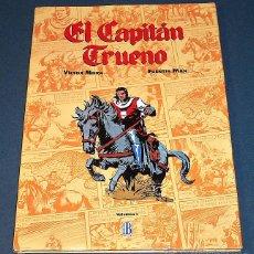 Cómics: TEBEO / CÓMIC EL CAPITÁN TRUENO - VOLUMEN 1 - EDICIONES B (1993). Lote 47090092