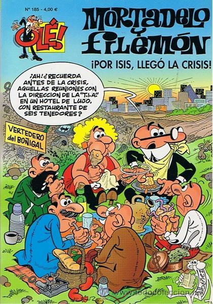 CÓMIC MORTADELO Y FILEMÓN Nº 185 (Tebeos y Comics - Ediciones B - Clásicos Españoles)