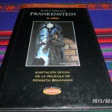 Cómics: MARY SHELLEY FRANKENSTEIN EL CÓMIC, ADAPTACIÓN OFICIAL FILM KENNETH BRANNAGH. EDICIONES B 1995. BE.. Lote 47604979
