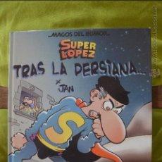 Cómics: SUPERLOPEZ MAGOS DEL HUMOR 104 - TRAS LA PERSIANA - SUPER LOPEZ - JAN. Lote 50161329