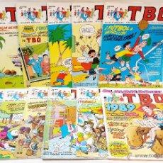 Cómics: TBO. EDICIONES B. 1988. PRIMER AÑO COMPLETO, 11 NUMEROS. VER DESCRIPCION.. Lote 47648373