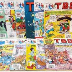 Cómics: TBO. EDICIONES B, 1992. QUINTO AÑO COMPLETO. 12 NUMEROS. VER DESCRIPCION.. Lote 47648964