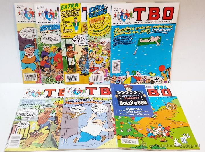 TBO. EDICIONES B, 1993. SEXTO AÑO INCOMPLETO. 8 NUMEROS. VER DESCRIPCION (Tebeos y Comics - Ediciones B - Otros)