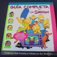 Cómics: GUIA COMPLETA DE LOS SIMPSON - MATT GROENING - RAY RICHMOND - EDICIONES B.. Lote 47781779