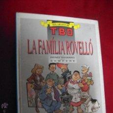 Cómics - LA FAMILIA ROVELLO - ELS ARXIUS DE TBO 3 - NAVARRO & SEMPERE - CARTONE EN CATALAN - 47810918