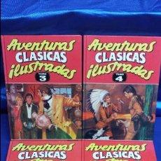 Cómics: AVENTURAS CLÁSICAS ILUSTRADAS - 4 TOMOS ( 1 - 2 - 3 - 4 ) - EDICIONES B. Lote 47862176