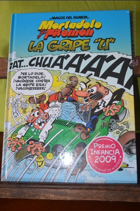MORTADELO Y FILEMON - LA GRIPE U - MAGOS DEL HUMOR 134 - IBAÑEZ (Tebeos y Comics - Ediciones B - Clásicos Españoles)