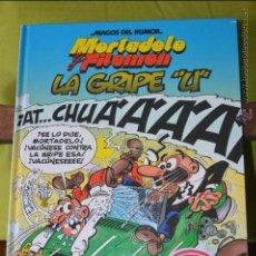 Cómics: MORTADELO Y FILEMON - LA GRIPE U - MAGOS DEL HUMOR 134 - IBAÑEZ. Lote 48201671