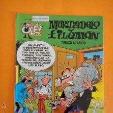 Cómics: OLE ! MORTADELO Y FILEMON Nº 119 TIMAZO AL CANTO . EDICIONES B .. Lote 48553822