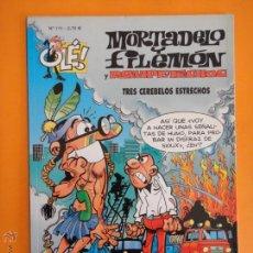 Comics : OLE ! MORTADELO Y FILEMON Nº 111 TRES CREBELOS ESTRECHOS . EDICIONES B .. Lote 48553923