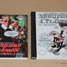 Cómics: MORTADELO Y FILEMÓN - LA FOTONOVELA - EL GRÁN LIBRO - ED B. 1ª ED 2003 Y 2007 - MUY BUEN ESTADO. Lote 48554979