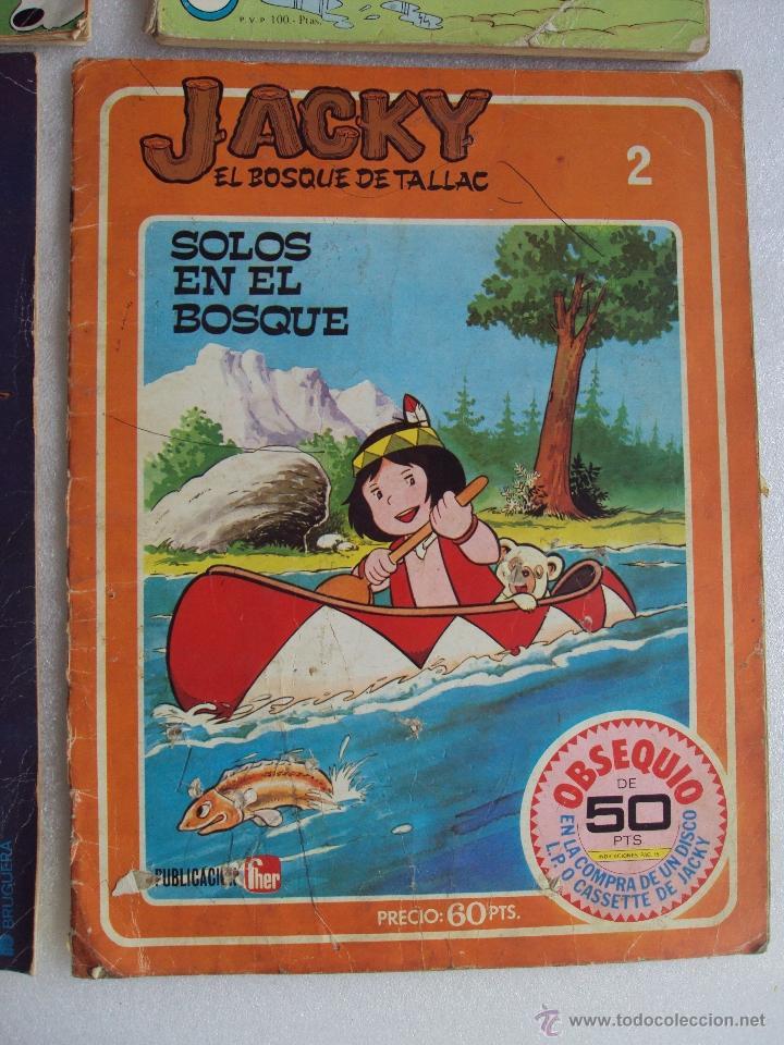 Cómics: CUATRO TEBEOS DE LOS AÑOS 70 Y 80, VIKIE EL VIKINGO, CONDORITO, ERASE UNA VEZ...EL ESPACIO, JACKY - Foto 4 - 48674961