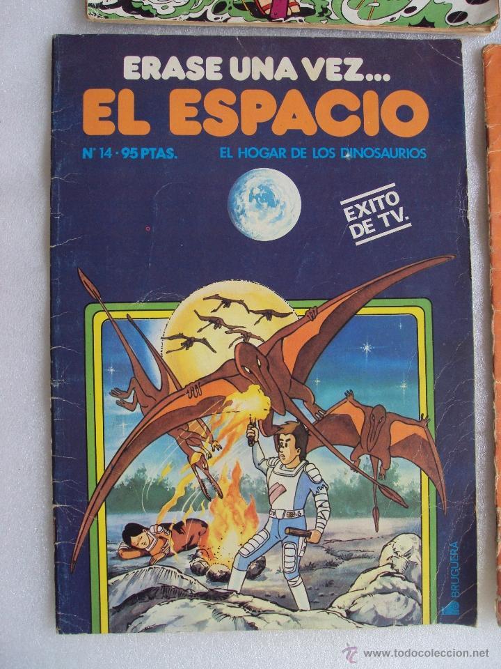 Cómics: CUATRO TEBEOS DE LOS AÑOS 70 Y 80, VIKIE EL VIKINGO, CONDORITO, ERASE UNA VEZ...EL ESPACIO, JACKY - Foto 5 - 48674961