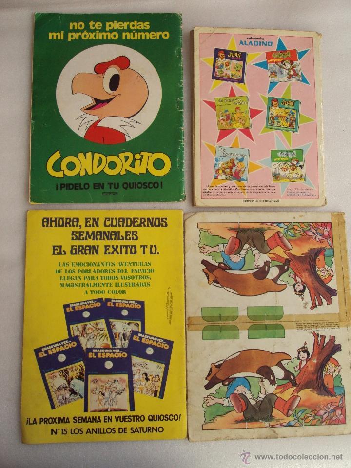 Cómics: CUATRO TEBEOS DE LOS AÑOS 70 Y 80, VIKIE EL VIKINGO, CONDORITO, ERASE UNA VEZ...EL ESPACIO, JACKY - Foto 6 - 48674961