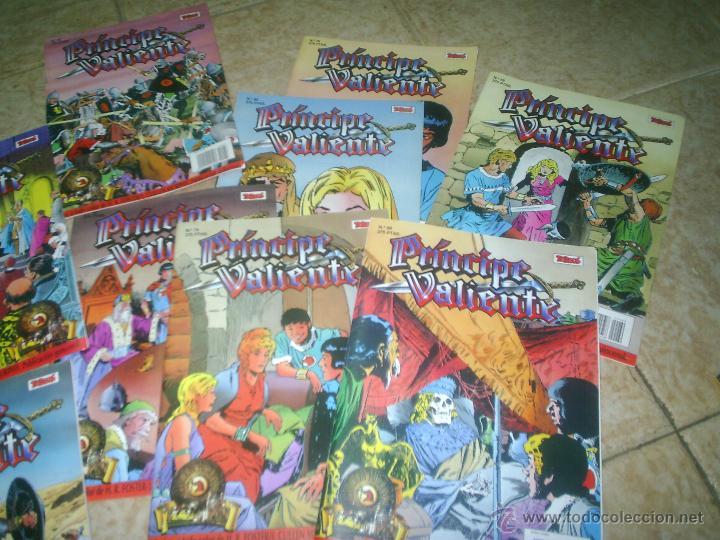 LOTE COMICS PRINCIPE VALIENTE (Tebeos y Comics - Ediciones B - Otros)