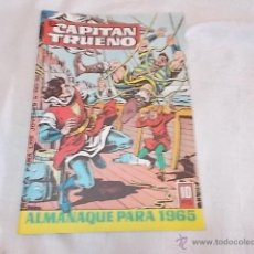 Cómics: EL CAPITÁN TRUENO ALMANAQUE PARA 1965. Lote 48802136