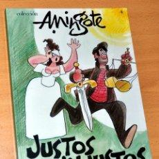 Cómics: COLECCIÓN A. MINGOTE - Nº 4 - JUSTOS E INJUSTOS - EDICIONES B - 1ª EDICIÓN - DICIEMBRE 2006. Lote 48984848