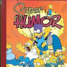 Cómics: TOMO * SUPER HUMOR , LOS SIMPSON * Nº 1 - 1 ª EDICIÓN AÑO 1996. Lote 49012758