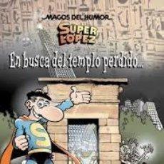 Cómics: CÓMICS. MAGOS DEL HUMOR 120. SUPERLÓPEZ. EN BUSCA DEL TEMPLO PERDIDO... - JAN (CARTONÉ). Lote 49100288