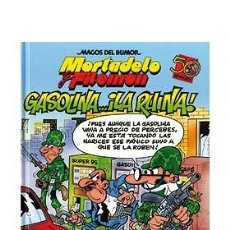 Cómics: CÓMICS. MAGOS DEL HUMOR 124. MORTADELO Y FILEMÓN. GASOLINA...¡LA RUINA! - FRANCISCO IBÁÑEZ (CARTONÉ). Lote 49100398