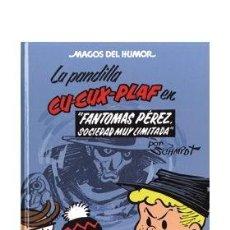 Cómics: CÓMICS. MAGOS DEL HUMOR 129. LA PANDILLA CU-CUX-PLAF. FANTOMAS PEREZ,SOCIEDAD MUY LIMITADA (CARTONÉ). Lote 49100507