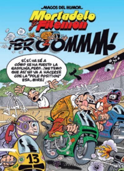 CÓMICS. MAGOS DEL HUMOR 157. MORTADELO Y FILEMÓN. ¡BROOMMM! - FRANCISCO IBÁÑEZ (CARTONÉ) (Tebeos y Comics - Ediciones B - Humor)