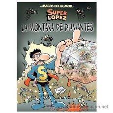 Cómics: CÓMICS. MAGOS DEL HUMOR 165. SUPERLÓPEZ. LA MONTAÑA DE DIAMANTES - EFEPE/JAN (CARTONÉ). Lote 210528933