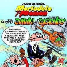 Cómics: CÓMICS. MAGOS DEL HUMOR 166. MORTADELO Y FILEMÓN. CONTRA JIMMY 'EL CACHONDO' - FRANCISCO I (CARTONÉ). Lote 49108759