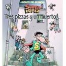 Cómics: CÓMICS. MAGOS DEL HUMOR 168. SUPERLÓPEZ. TRES PIZZAS Y UN MUERTO - EFEPE/JAN (CARTONÉ). Lote 82823339
