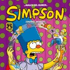 Cómics: CÓMICS. MAGOS DEL HUMOR. SIMPSON 44. ¡ANIMO, MARGE! MATT GROENING (CARTONÉ). Lote 49125413