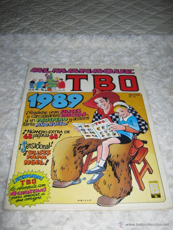 ALMANAQUE TBO 1989 N. 11 (Tebeos y Comics - Ediciones B - Clásicos Españoles)