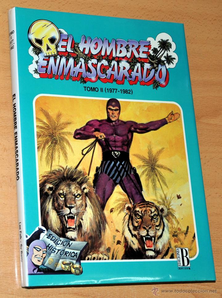Cómics: TOMO 2 (1977-1982) - EL HOMBRE ENMASCARADO (THE PHANTOM) - LEE FALK / SY BARRY - Ediciones B - 1992 - Foto 1 - 75952765