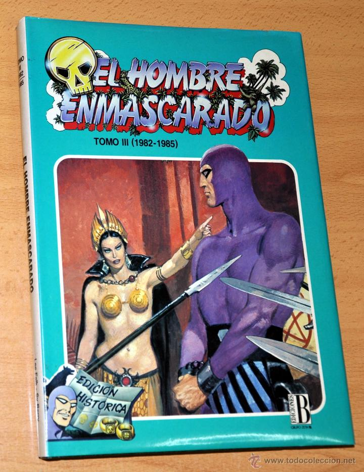 Cómics: TOMO 3 (1982-1985) - EL HOMBRE ENMASCARADO (THE PHANTOM) - LEE FALK / SY BARRY - Ediciones B - 1992 - Foto 1 - 75952726