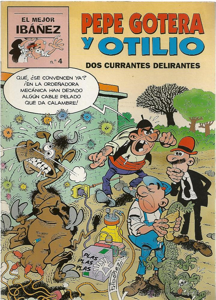 EL MEJOR IBAÑEZ Nº 4 - PEPE GOTERA Y OTILIO - ED. PRIMERA PLANA//EDICIONES B. 1999 (Tebeos y Comics - Ediciones B - Clásicos Españoles)